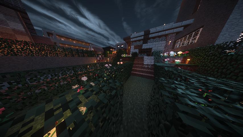yukimomoサーバーの風景