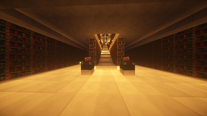 図書室内部