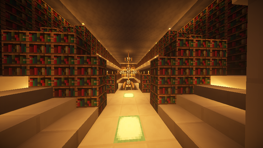 神殿図書室?